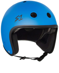S1 Retro Lifer Helmet - Cyan Matte