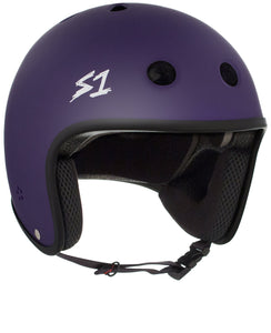 S1 Retro Lifer Helmet - Purple Matte