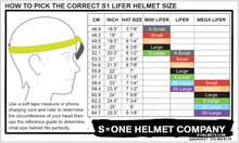 S1 Mega Lifer Helmet-White Gloss