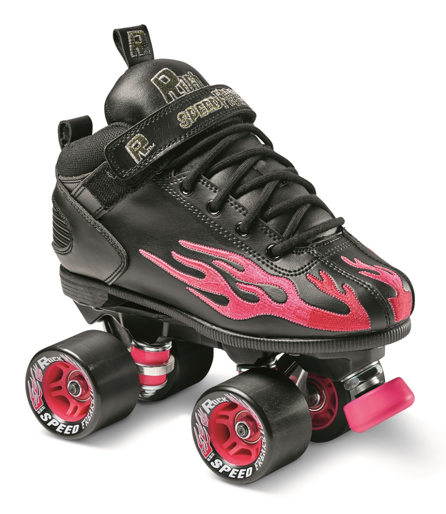 Sure-Grip Ruby Rock Flame Skate