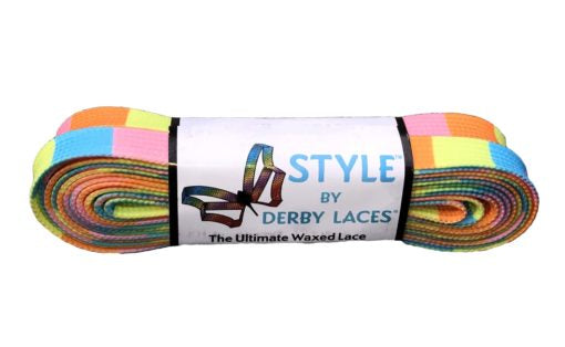 Summer Beach Block Derby Laces