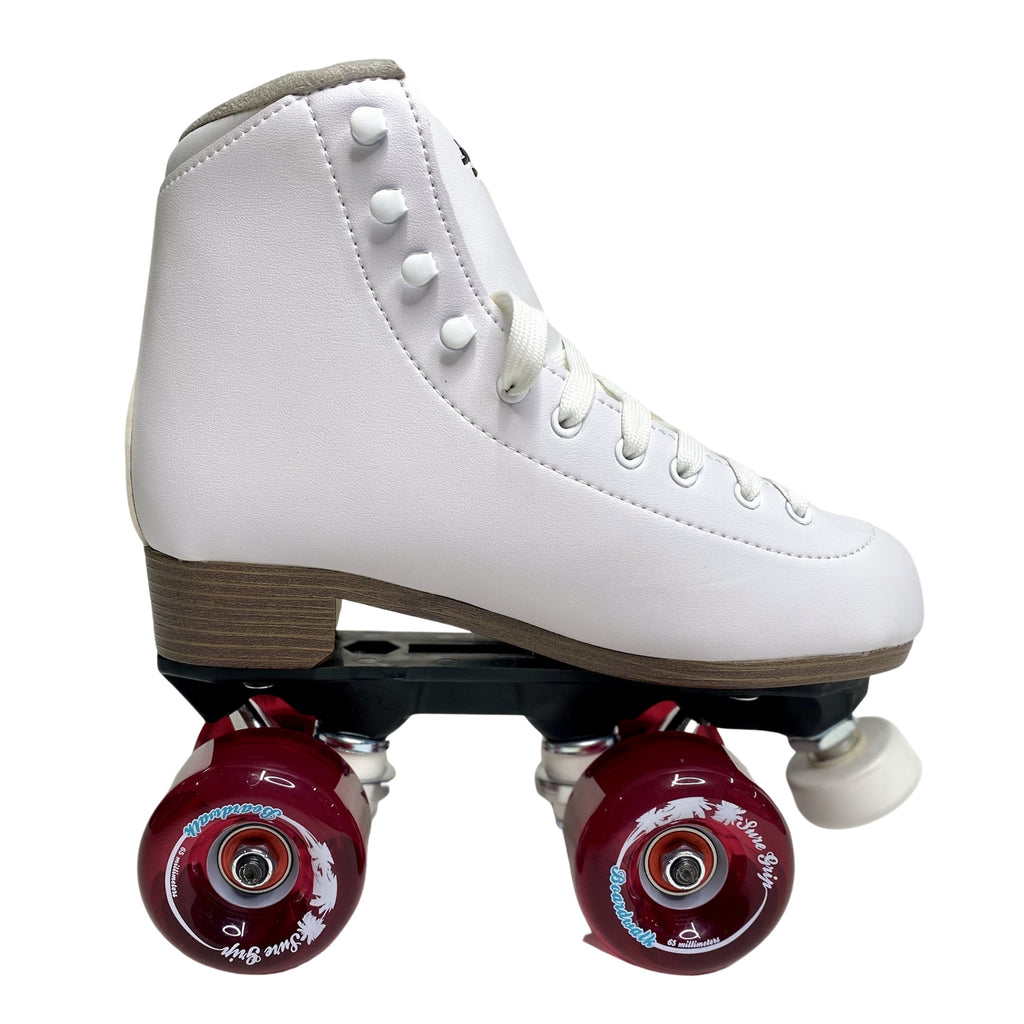 SURE GRIP FAME SKATES - WHITE