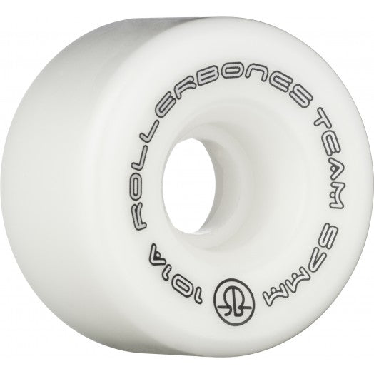 White Rollerbones Team Wheels