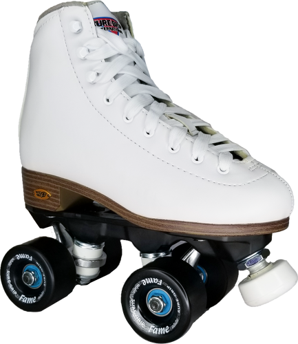 Sure-Grip Fame Skate - White *INDOOR*