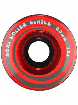 Moxi Gummy Wheel - Cherry Stain - 8 PACK - Pigeon's Roller Skate Shop