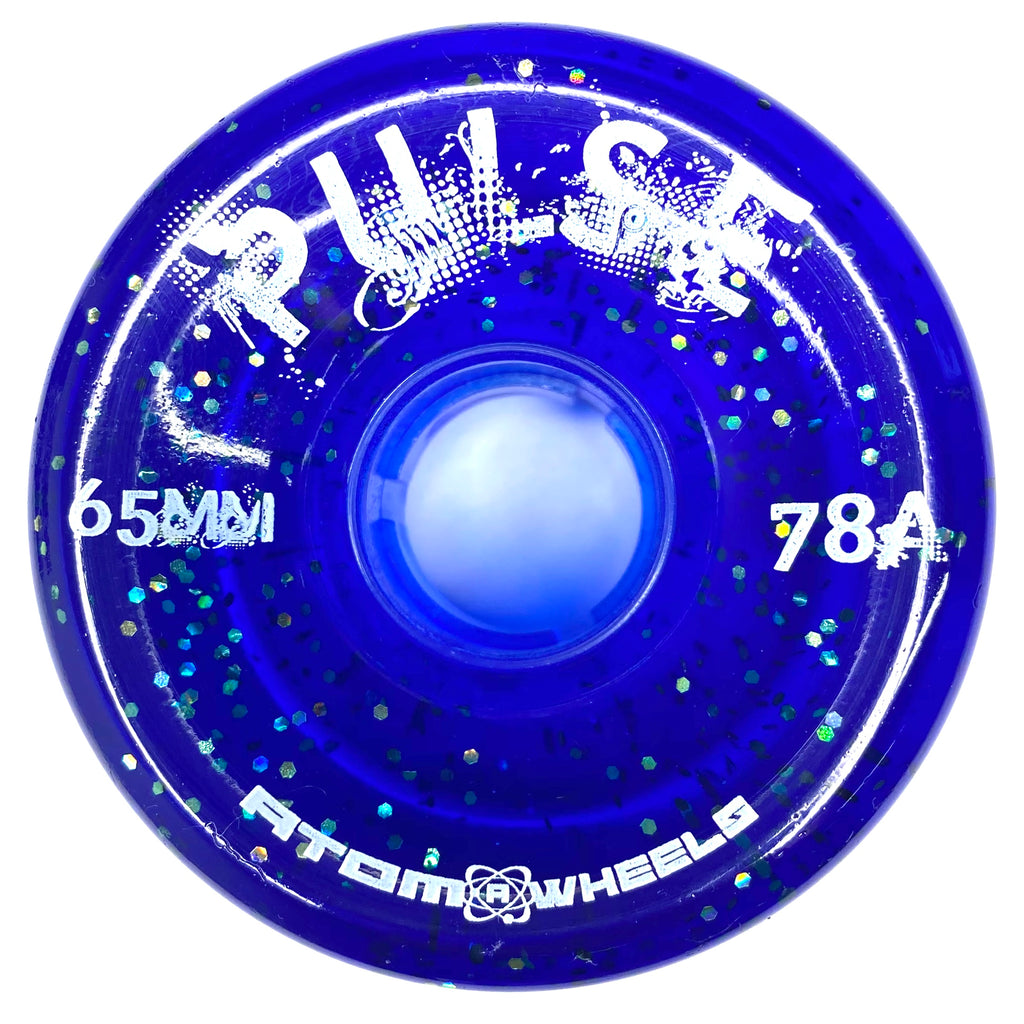 Glitter Pulse Outdoor Wheel - Blue (8-pack)