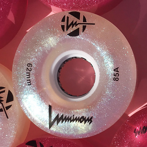 Mother of Pearl Luminous Light Up Wheels *SINGLES*