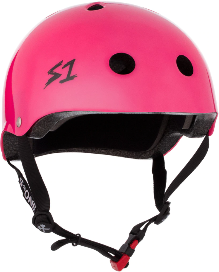 S1 Mini Lifer *KIDS* Helmet - Hot Pink Gloss