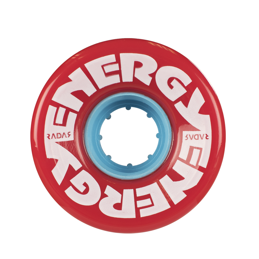 Energy Wheels- Red 57mm (8-pack) - Pigeon's Roller Skate Shop