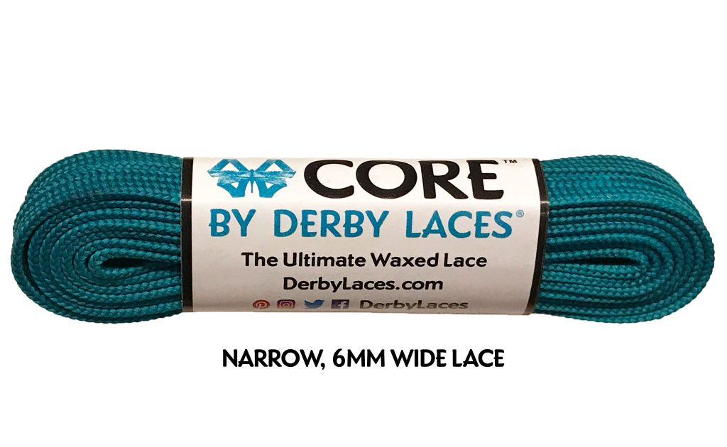 Teal CORE Derby Laces - 108 in