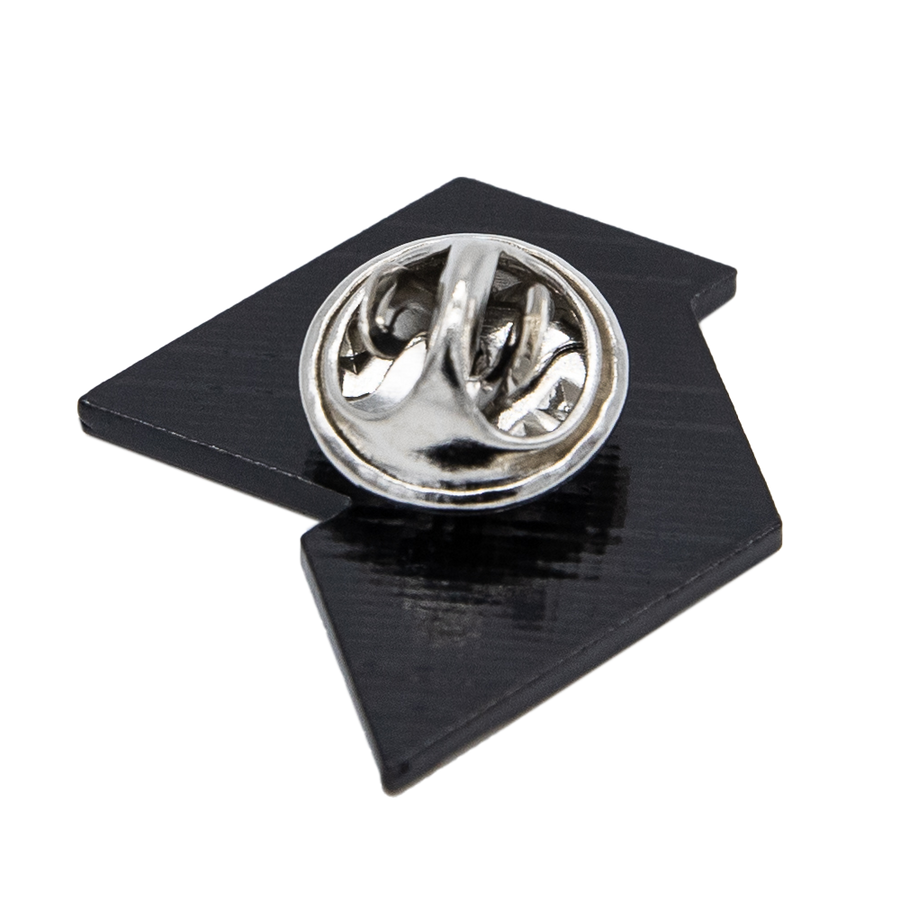 Spiritleaf Logo Lapel Pin - Black