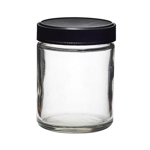 Kush Jar w/Black Childproof Lid - 5oz