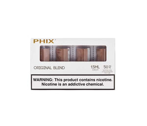 electronic cigarette cartridges blend phix pods e liquid