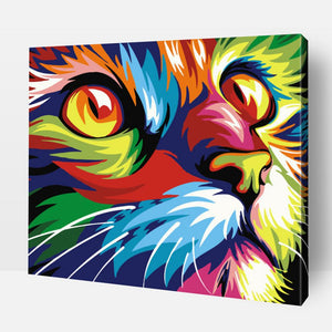 Paint By Number | Persian Cat