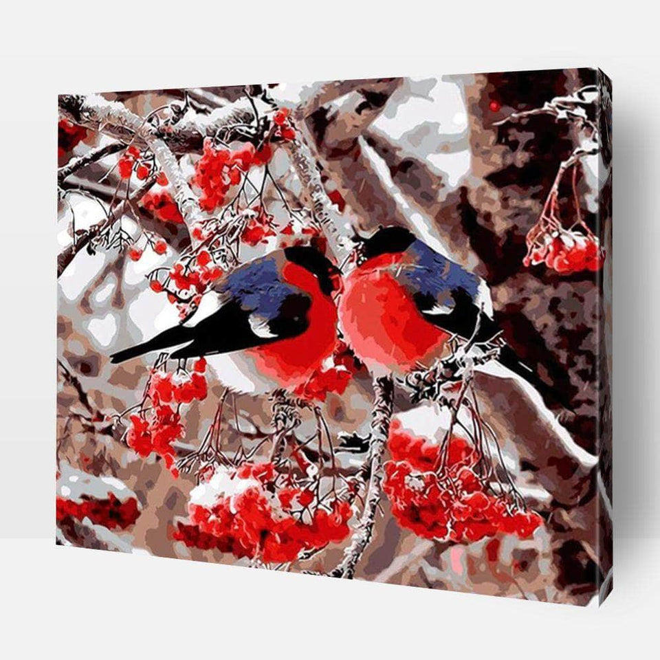 Paint By Numbers - Paint By Numbers | Birds In Winter