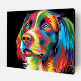 Paint By Number | Rainbow Labrador