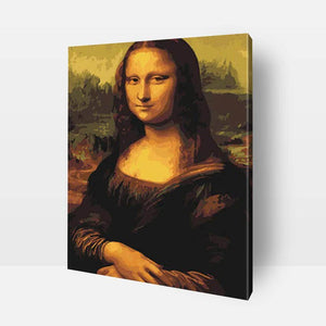 Paint By Numbers For Adults | Mona Lisa- Custom Paint By Numbers Kits ®