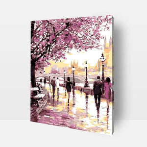 Paint By Numbers - Paint By Numbers | Cherry Blossoms