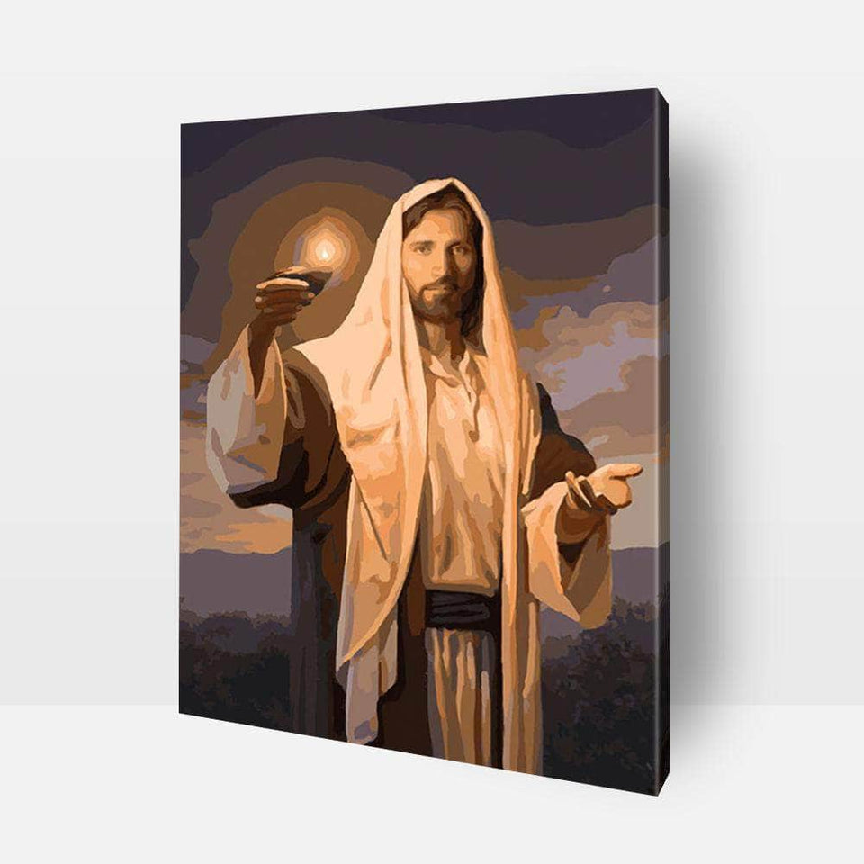 Paint By Numbers For Adults | Jesus Christ- Custom Paint By Numbers Kits ®