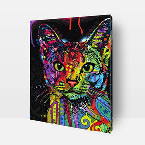 Paint By Numbers - Paint By Numbers | Multicolor Bengal Cat