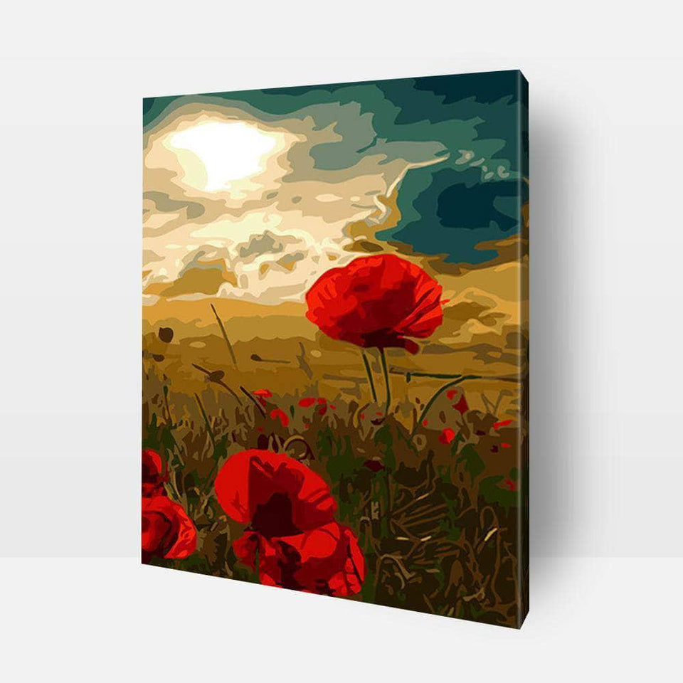 Paint By Numbers - Paint By Numbers | Poppies