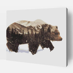 Paint By Number | Grizzly Bear