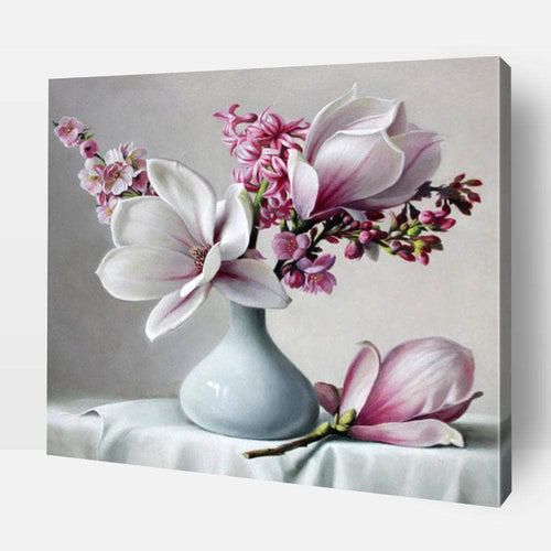 Paint By Number | Magnolia Flower