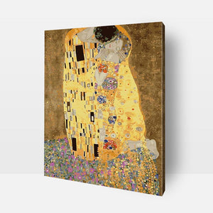 Paint By Numbers | The Kiss | Gustav Klimt Get ready to embark upon the journey of fun and self discovery ! Discover the artist in you and develop your creative side, mindfulness, love of colors, sense of satisfaction, and much more with this amazing Paint by Numbers Kit. Order your kit today or send us a photograph to be turned into a painting for you