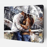 Romance In Rain- Custom Paint By Numbers Kits ®