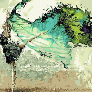 Paint By Numbers - Dancing Ballerina