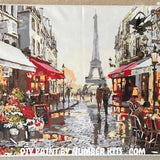 Paint By Numbers For Adults ™ - Rainy Paris Street-Paint By Numbers ®