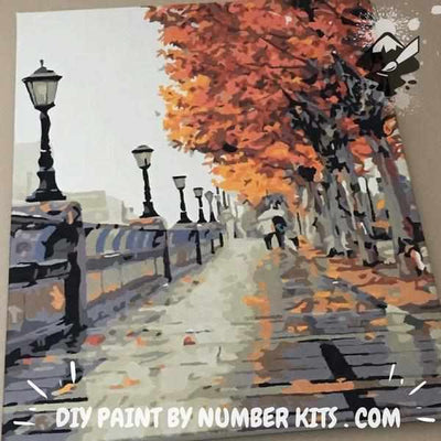 Paint By Number | Fall Scene