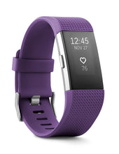 Fitbit Charge 2 Heart Rate + Fitness Wristband, Plum, Small (US Version)
