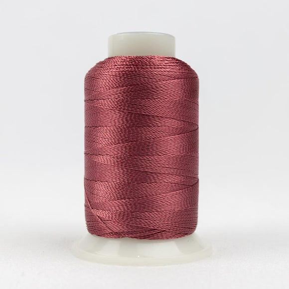 WonderFil 400m/437yd 12wt solid thread  number AC1108 Dark Rose