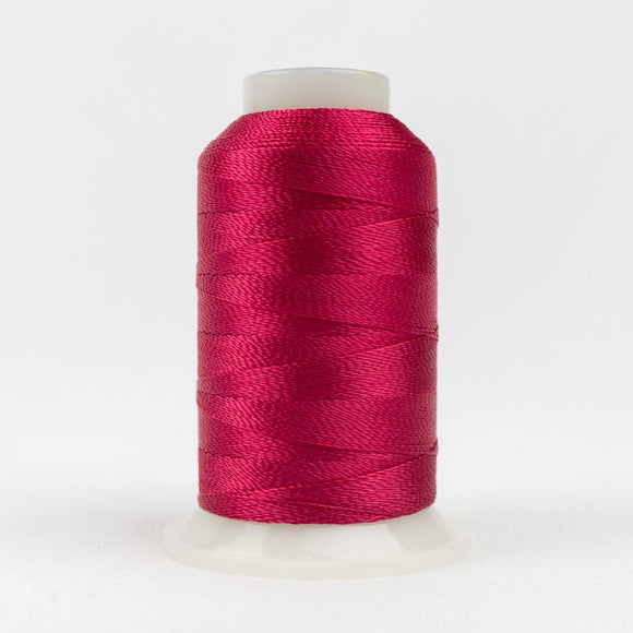 WonderFil 400m/437yd 12wt solid thread  number AC1168 Dark Crimson