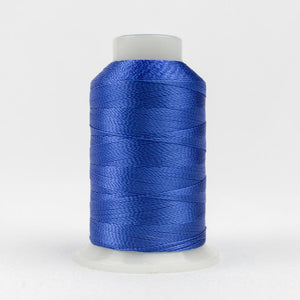 WonderFil 400m/437yd 12wt solid thread  number AC137 True Blue