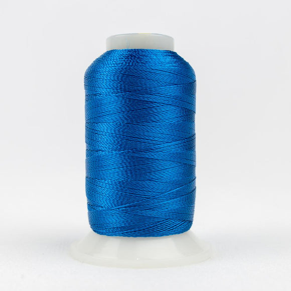 WonderFil 400m/437yd 12wt solid thread  number AC148 Mediterrean Blue