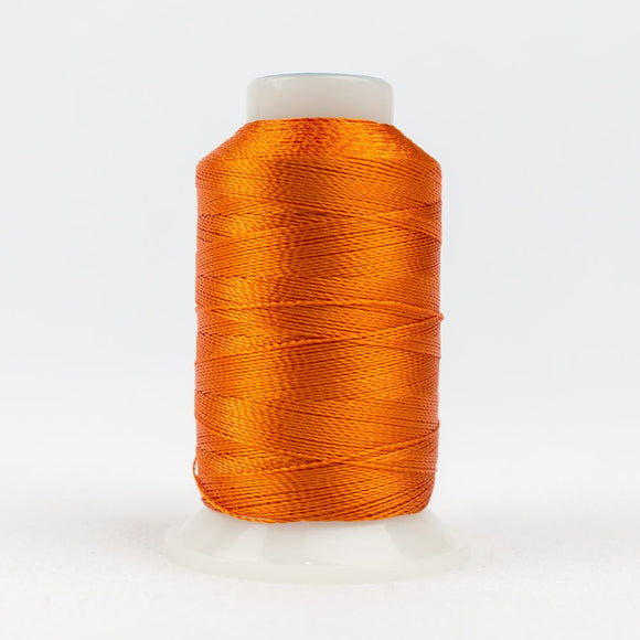 WonderFil 400m/437yd 12wt solid thread  number AC27 Orange