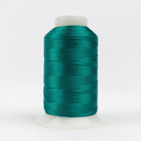 WonderFil 400m/437yd 12wt solid thread  number AC941 Bluegrass Green