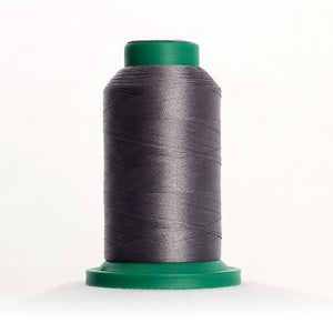 Isacord 5000m/5500yd 40wt solid trilobal polyester thread  number 0112 Leadville