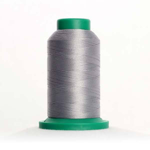 Isacord 5000m/5500yd 40wt solid trilobal polyester thread  number 0131 Smoke