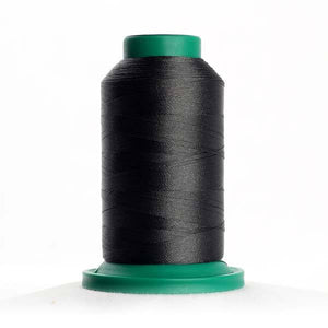 Isacord 1000m/1100yd 40wt solid trilobal polyester thread  number 0134 Smoky