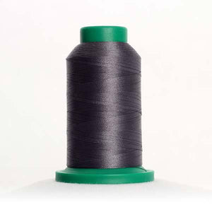 Isacord 5000m/5500yd 40wt solid trilobal polyester thread  number 0138 Heavy Storm