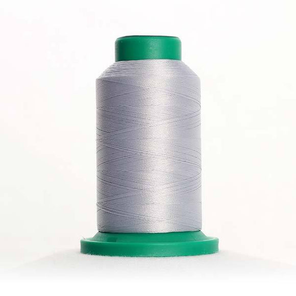 Isacord 5000m/5500yd 40wt solid trilobal polyester thread  number 0145 Skylight
