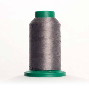 Isacord 5000m/5500yd 40wt solid trilobal polyester thread  number 0152 Dolphin