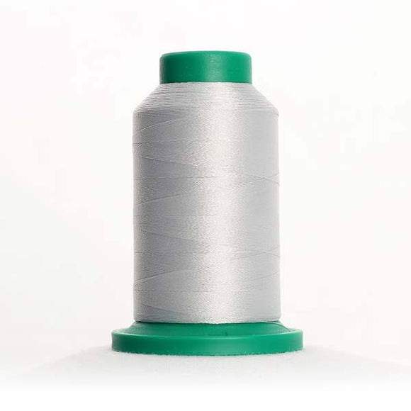 Isacord 5000m/5500yd 40wt solid trilobal polyester thread  number 0182 Saturn Grey