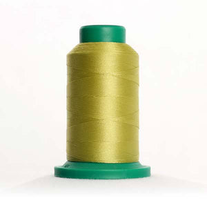 Isacord 5000m/5500yd 40wt solid trilobal polyester thread  number 0232 Seaweed