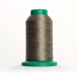 Isacord 5000m/5500yd 40wt solid trilobal polyester thread  number 0463 Cypress