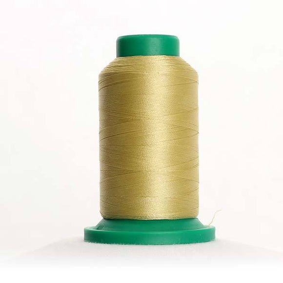 Isacord 5000m/5500yd 40wt solid trilobal polyester thread  number 0532 Champagne