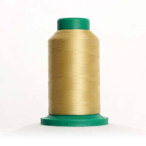 Isacord 5000m/5500yd 40wt solid trilobal polyester thread  number 0643 Barewood